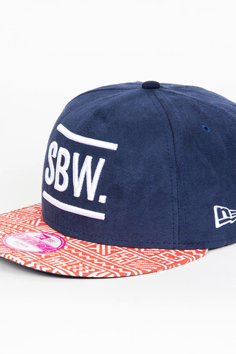 Бейсболка SUPREMEBEING Sbw Snapback (Blue/Red-9640, O/S)