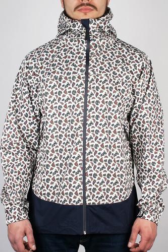 Куртка CROOKS & CASTLES Elite Paisley (White, M) недорого