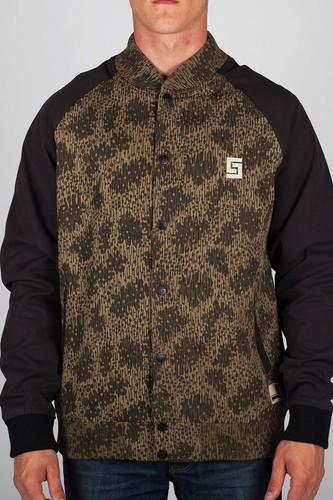 Куртка CROOKS & CASTLES I1310311 (Rain-Camo-Black, L)