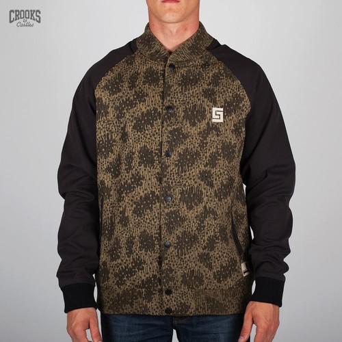 Куртка CROOKS & CASTLES I1310311 (Rain-Camo-Black, L) куртка crooks