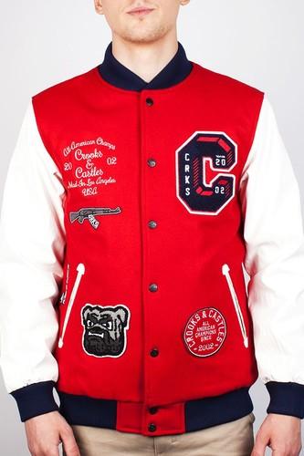Куртка CROOKS & CASTLES I1410304 (True-Red, XL)