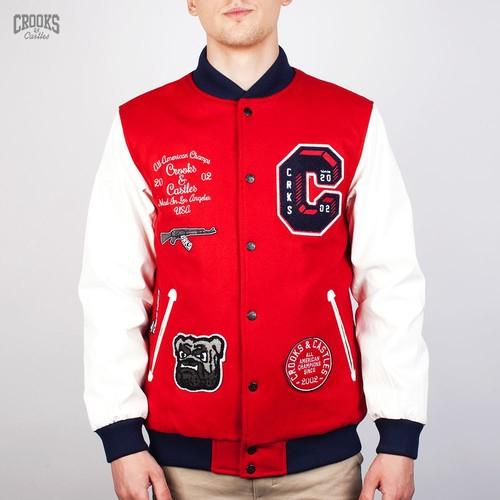 Куртка CROOKS & CASTLES I1410304 (True-Red, XL) куртка crooks