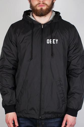 купить Куртка OBEY Nation Jacket (Black, S) дешево