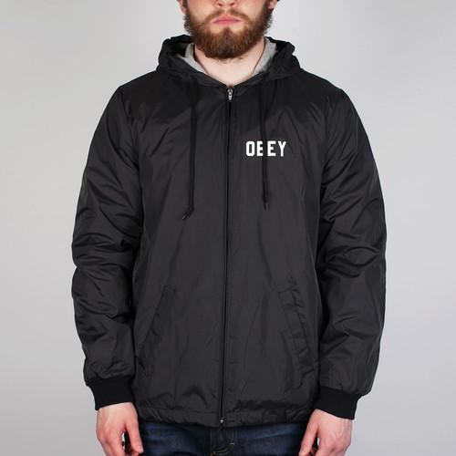Куртка OBEY Nation Jacket (Black, S) куртка obey nation jacket black s