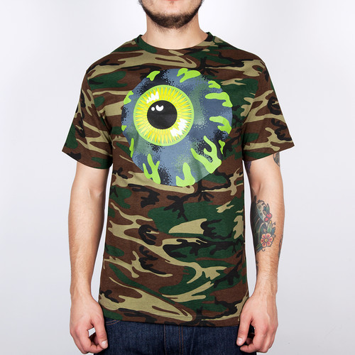 Футболка MISHKA Kirby Camo Keep Watch Tee (Camo, L)