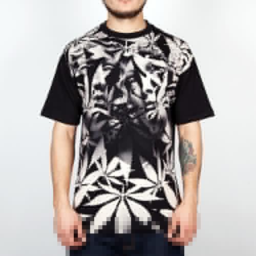 Футболка MISHKA Paralyzed Tee (Black, M) футболка mishka paralyzed tee black m