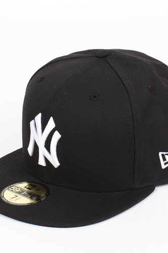 Бейсболка NEW ERA MLB Basic NY (Black, 7 3/8) бейсболка new era 940 league basic ny scarlet white o s