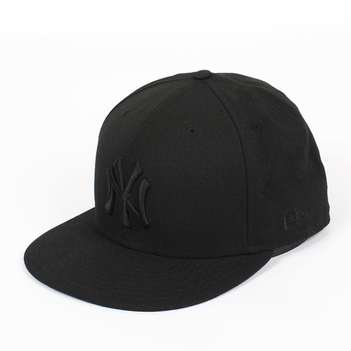 Бейсболка NEW ERA Black On Black NY (Black, 7 1/2) бейсболка new era clean trucker ny black black white o s