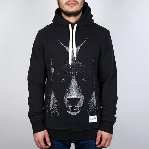 Толстовка SUPREMEBEING Bearwolf Hood (Black-9657, 2XL) толстовка supremebeing sunrah crew black 9717 2xl
