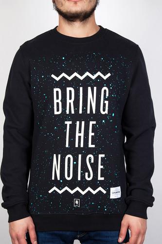 Толстовка SUPREMEBEING Bring The Noise Crew (Black-9716, XL) цены онлайн
