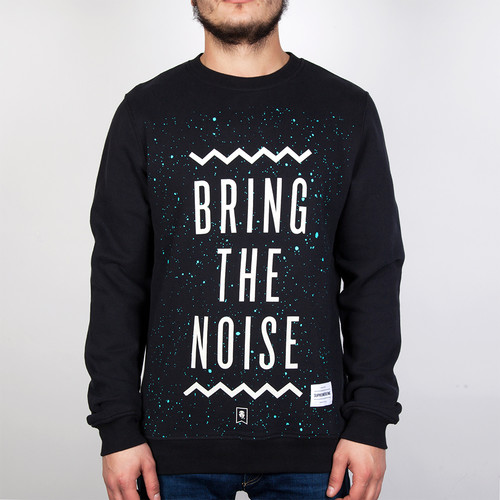 Толстовка SUPREMEBEING Bring The Noise Crew (Black-9716, XL) цена и фото