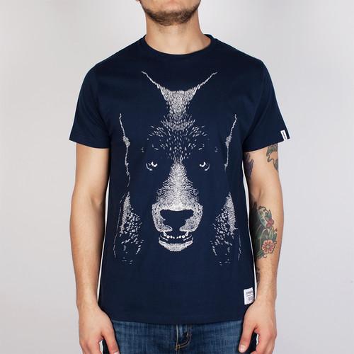 купить Футболка SUPREMEBEING Bearwolf (Navy-9664, XS) по цене 863 рублей