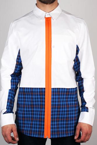 Рубашка CROOKS & CASTLES Mad Plaid (White, L)