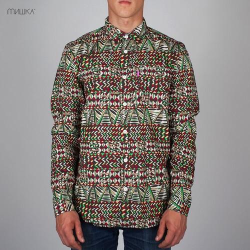 Рубашка MISHKA King Jaffe (Earth, L) цены онлайн