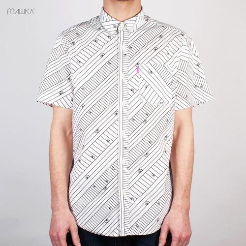 купить Рубашка MISHKA SP141401B (White, S) по цене 1338 рублей