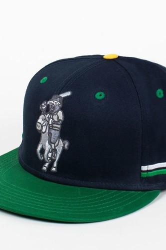 Бейсболка CAYLER & SONS Yolo Cap (Navy-Green-Yellow, O/S)