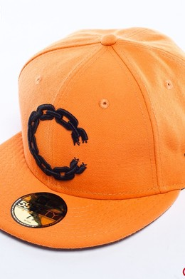 Бейсболка CROOKS & CASTLES Chain C Orange фото