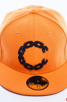 Бейсболка CROOKS & CASTLES Chain C Orange фото 2
