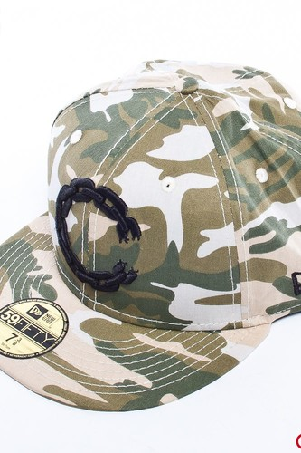 Бейсболка CROOKS & CASTLES Chain C (Tan-Camo, 7 1/8)