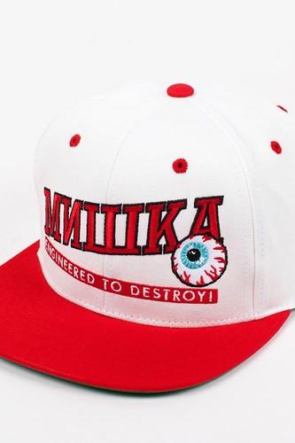 цена на Бейсболка MISHKA Atlantic Snapback (White, O/S)