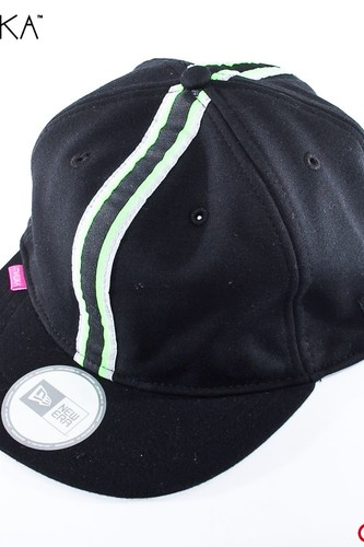 Бейсболка MISHKA Destroy New Era Cycling Cap (Black, S-M)