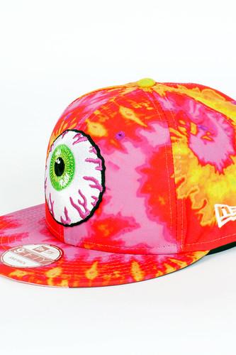 Бейсболка MISHKA Keep Watch New Era Snapback (Sunset-Tie-Dye, O/S)