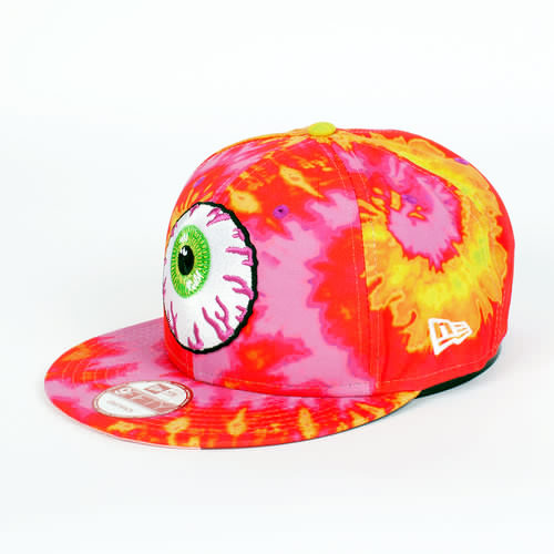 Бейсболка MISHKA Keep Watch New Era Snapback (Sunset-Tie-Dye, O/S) бейсболка mishka reptilian keep watch new era 5950 black 7 5 8