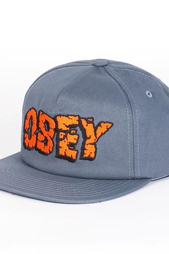 Бейсболка OBEY San Andreas Snapback (Grey-Blue, O/S) бейсболка с прямым козырьком dc proceeder blue mirage page 1
