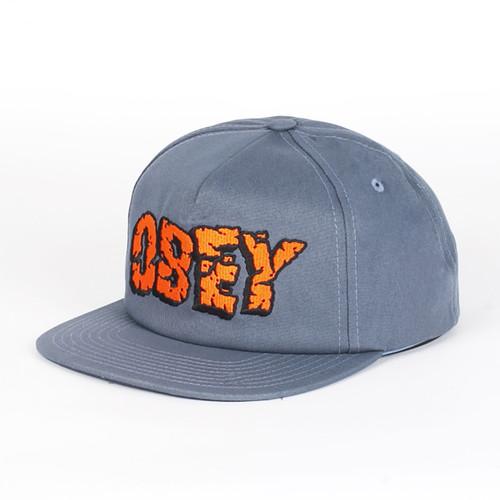 Бейсболка OBEY San Andreas Snapback (Grey-Blue, O/S) бейсболка obey washington 5 panel olive o s