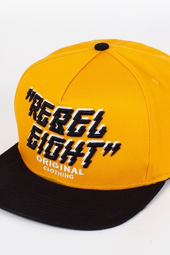 цена на Бейсболка REBEL8 Original (Yellow-Black-Black, O/S)