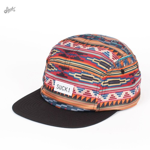 Бейсболка SUCK Gaucho 5-Panel (Multi, O/S) цены онлайн