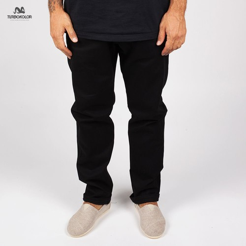 Брюки TURBOKOLOR Slim Fit SS13 (Black, 30/32) футболка turbokolor pocket slim fit ss13 heather red m
