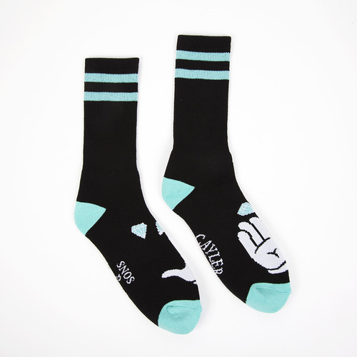 Носки CAYLER & SONS Cayler&Co. Socks (Black-Mint-White, M) цена
