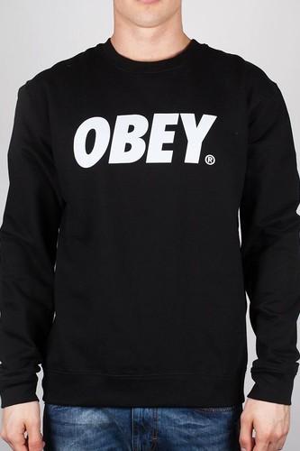 цена на Толстовка OBEY Font (Black, XL)