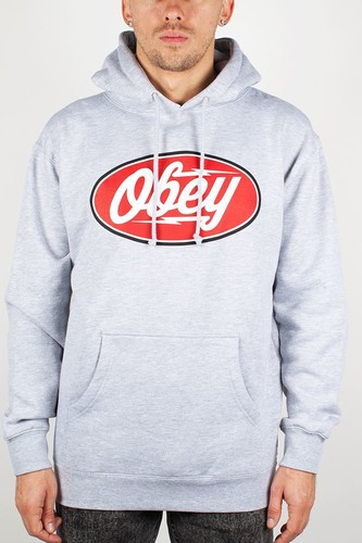 цена на Толстовка OBEY Gasoline Alley (Heather-Grey, S)
