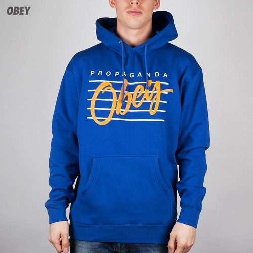 Толстовка OBEY Nine Nickel Hoodie (Royal-Blue, 2XL)