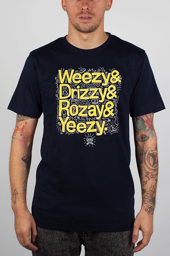 Футболка CAYLER & SONS Drizzy Tee (Navy-Yellow-White, M) футболка cayler