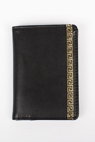цена на Кошелек CROOKS & CASTLES Greco Wallet (Black)