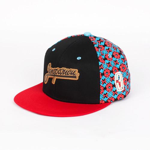 купить Бейсболка ЗАПОРОЖЕЦ 3 Logo Снеп Детская (Black/Red, O/S) по цене 1000 рублей