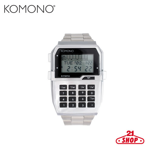 Часы KOMONO Nasa (Silver)