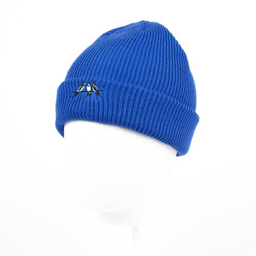 купить Шапка детская ЗАПОРОЖЕЦ Ласточки (Blue-6-12) по цене 575 рублей