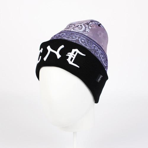 Шапка CROOKS & CASTLES Luxe Bandit Beanie (Black/Bandana Multi) шапка humor stomp hood multi