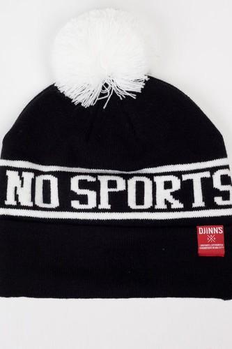 Шапка DJINNS Bubble Beanie No Sports (Black)