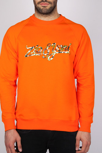 футболка ziq Толстовка ZIQ & YONI Camo Is Dead (Оранжевый, S)