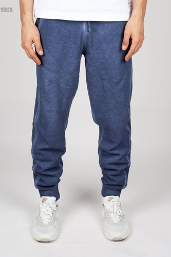 Брюки URBAN CLASSICS Spray Dye Sweatpants (Denim-Blue, L) джинсы urban classics ladies boyfriend denim pants ocean blue 29