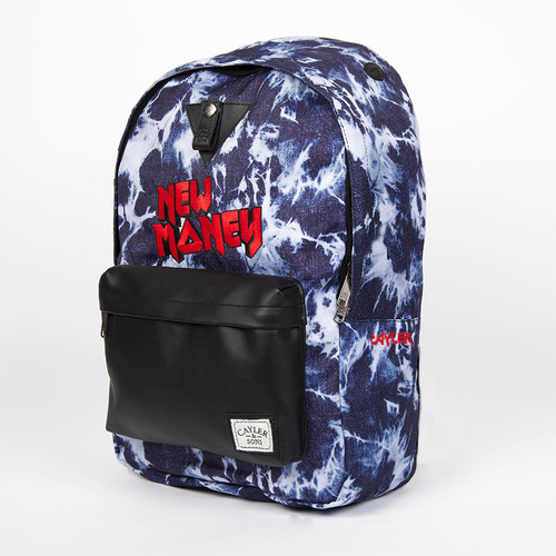 цена на Рюкзак CAYLER & SONS New Money Downtown Backpack (Acid-Washed-Black-Red)