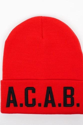 Шапка TRUESPIN Acab (Red)
