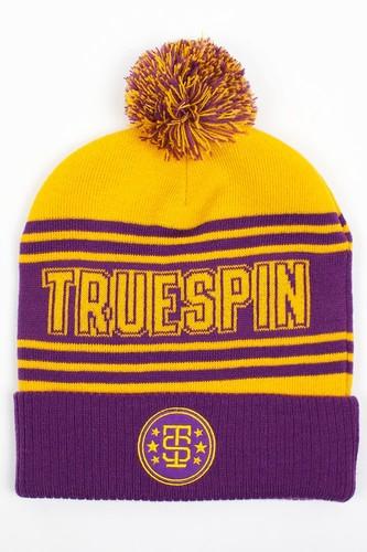 Шапка TRUESPIN Baseball Pom (Yellow-Purple)