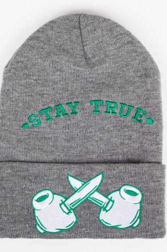 Шапка TRUESPIN Criminal Mind Classic (Grey-Green) шапка truespin frozen green