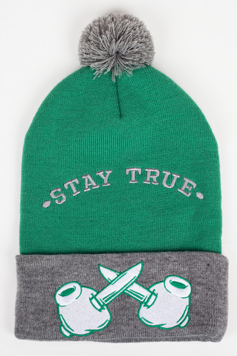 Шапка TRUESPIN Criminal Mind Pomme (Green-Grey) шапка truespin frozen green